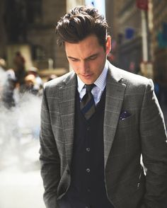 We've got our money on the Tyrwhitt Twill Business Suit for the best all-season multi-tasker.