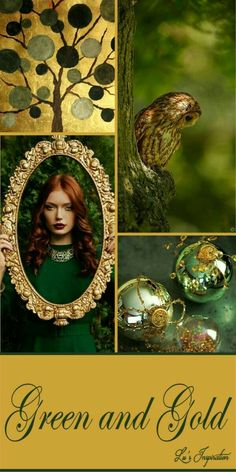 Green and Gold Paint Color Schemes, Colour Pallette, Color Harmony, Color Balance, Mood Colors, Color Collage, Colour Board, Color Stories, Shades Of Green