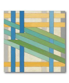 Take a look at this Lineate I Canvas Wall Art by COURTSIDE MARKET on #zulily today!