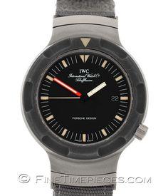 IWC   Porsche Design Ocean 2000 BUND - Service 11/2014   Ref. 3509-001