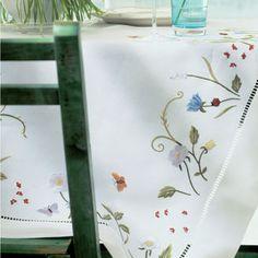 Эри Текстиль Цветущий луг столового белья | Artedona.com  150х55