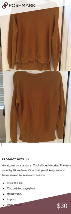 Madewell Texturework Sweater Super comfy sweater! Slight pilling but still in great shape. No trades! Madewell Sweaters Crew & Scoop Necks
