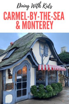 Dining With Kids In Carmel-by-the-Sea & Monterey - Oh My! Omaha - Restaurants that are family-friendly in Carmel-by-the-Sea & Monterey - Monterey Bay California, California With Kids, Carmel California, California Coast, California Travel, California Destinations, Northern California, Monterey Restaurants, California Restaurants