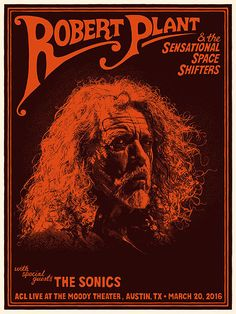 GigPosters.com - Robert Plant - Robert Plant & The Sensational Space Shifters - Sonics