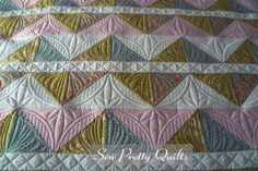 Sew Pretty Quilts | Custom Quilting, Jagged Quilt by Riley Blake