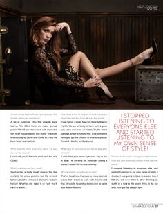 Katie Cassidy Glamoholic Magazine March 2014