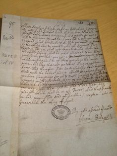 Anne Boleyn's letter (dated 29 April 1529) to Stephen Gardiner:  link includes transcript
