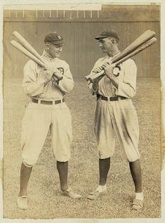 TY COBB and SHOELESS JOE JACKSON (baseball players)
