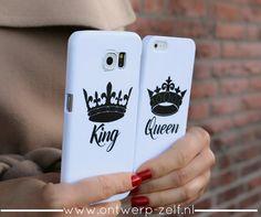 King Queen Phone Cases - www.ontwerp-zelf.nl