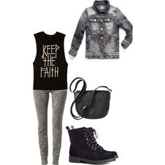 """B.A.P """"Coffee Shop"""" MV Zelo Inspired Outfit by smokingcrayonz on Polyvore featuring Forever 21, SELECTED, H&M, Merona and H.E.BY MANGO"""