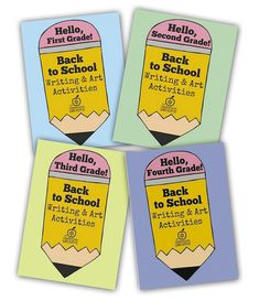 grade back to school writing Back To School Art, Back To School Crafts, 1st Day Of School, Art School, Writing Prompts 2nd Grade, Writing Prompts For Writers, Picture Writing Prompts, August Bulletin Boards, Back To School Bulletin Boards