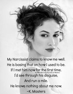 Eric knows the me he created, which was a distrusting, confused person who he projected all his shortcomings and faults onto. Narcissistic Behavior, Narcissistic Sociopath, Narcissistic Personality Disorder, Verbal Abuse, Emotional Abuse, Emotional Intelligence, Dysfunctional Relationships, Toxic Relationships, Working On Me