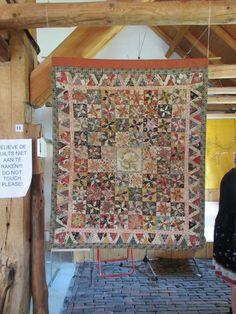 dutch quilt cat: Antique Quilts from An Moonen
