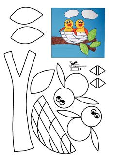 Summer Art And Craft Printable Summer Arts And Crafts, Spring Crafts For Kids, Diy Crafts For Kids, Art For Kids, Daycare Crafts, Classroom Crafts, Blog Art, Animal Crafts, Preschool Crafts