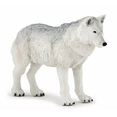 Buy the Papo Polar Wolf figure at MiniZoo, Australia's online toy store specialising in animal figurines, dinosaur models & more. Jungle Animals, Forest Animals, Baby Animals, Cute Animals, Unusual Animals, Wild Animals, Funny Animals, Arktischer Wolf, Tier Wolf