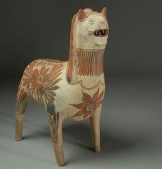 primitive ceramic images | Primitive Art & Folk Art / Mexican ceramic Nagual bank from Guerrero ...