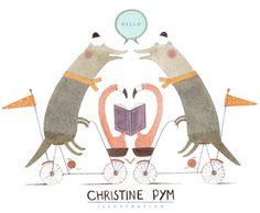 Christine Pym illustrations