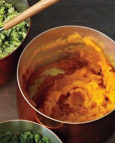 Paleo alternatives (with a bit of tweaking) to the classic mashed potato.  Martha Stewart Living, November 2012.
