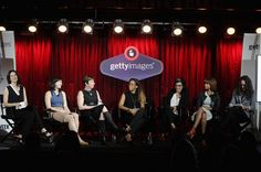 #AWXII - Advertising Week:  (L-R) Features Editor and National Correspondent  Bloomberg Businessweek Sheelah Kolhatkar, Creator and Editor Reductress Beth Newell, President & CEO 4A's Nancy Hill, Executive Vice President  Brand Partnerships and Commercial Licensing Atlantic Record Camille Hackney, Founder Epoch Films Mindy Goldberg, CEO and Co-Founder Narrative Tricia Clarke-Stone and Chief Creative Officer Y&R New York Leslie Sims