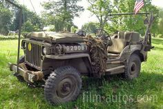 Willys MB Jeep Bild