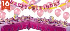 Tangled Deluxe Party Kit - Party City
