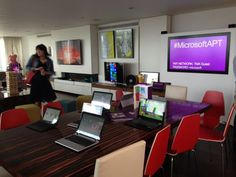 The Microsoft Apartment in London, Victoria. The home of the future.