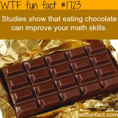Looks like I'm handing chocolate out before assessments from now on...