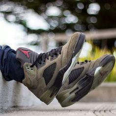 """Air Jordan 5 """"Fear"""""""