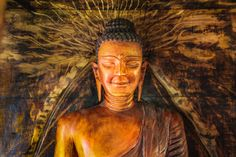Shop online for Gautama Supreme Buddha Statue after Relinquishing the Will to Live. Magnificent one of a kind statue made of Mahogany wood portraying the last days of the Gautama Supreme Buddha Local Artists, Statues, Supreme, Buddha, Art Pieces, Sculptures, Live, Artwork, Painting