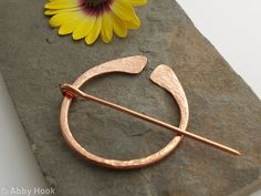 Iron Age Penannular Brooch. Cloak Pin Of Hand By Feralstrumpet $60 | Jewelry  Wishlist | Pinterest | Iron Age, Cloaks And Brooches