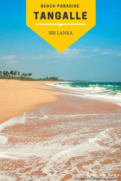 Is this the perfect beach? - Tangalle, Sri Lanka