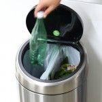 Touch Bin Recycle afvalemmer , 2x20 liter, kunststof binnenemmer - Matt Steel Fingerprint Proof - Afvalemmers & prullenbakken - Afval verzamelen  | Brabantia