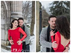 Winter Engagement Photography at the Guildwood Inn Winter Engagement, Engagement Shoots, Engagement Photography, Looking Stunning, Handsome, Dresses, Fashion, Vestidos, Moda