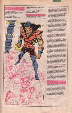 DC Comics Showcase, Who's Who entry: Tempest. Art by Joe Staton.