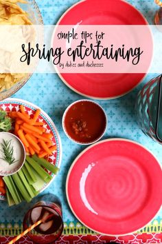 The weather's perfect for spring entertaining! Grab these simple tips to make the most of your party!