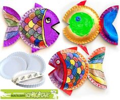 Fish! These would look beautiful for our bulletin board!