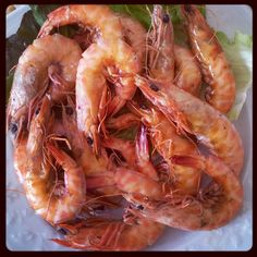 Start Filling Your Trolley Grilled Garlic Shrimp, Garlic Shrimp Pasta, Garlic Butter Shrimp, Shrimp And Asparagus, Healthy Dishes, Easy Healthy Recipes, Healthy Food, Lemon Garlic Butter Sauce, Light Pasta