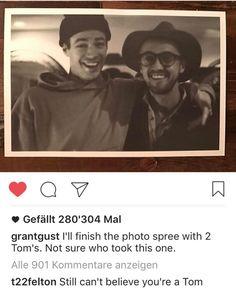 Grant Gustins Instagram