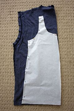 Men's T-shirt (or any T) to Tank Top tutorial.