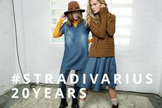 Ymre Stiekema and Tess Hellfeuer for Stradivarius's Autumn 2014 Lookbook.