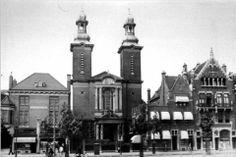 De Paradijskerk aan de Nieuwe Binnenweg in 1937.  In 1647 stichtte kapelaan Bernardus Hoogewerff een nieuwe kerkplek in Rotterdam, omdat de schuilkerk aan de Oppert (HH. Laurentius en Maria Magdalena of Oppertse kerk) te klein was geworden. Hij deed dit in zijn geboortehuis genaamd Het Paradijs, gelegen in de oude binnenstad tussen de Slijkvaart (later Lange Torenstraat) en de Delftsevaart, niet ver van de St. Laurenskerk. De kerk werd gewijd aan Petrus en Paulus.