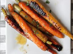 The Lucky Penny: Honey Ginger Roast Carrots and Bad Dog Parenting