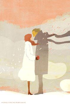 Happy Valentine by Yoko Tanji