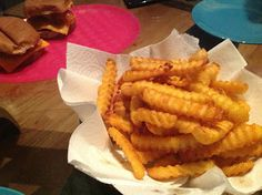How to make Frozen Fries AWESOME!!