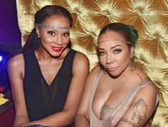 Tamar Braxton and Tameka 'Tiny' Harris