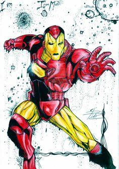 Iron Man by eREIina on DeviantArt