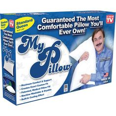 As Seen on TV My Pillow - I so want one of these!!!!