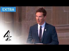 The League of British Artists, with Karen V. Wasylowski: VIDEO: Benedict Cumberbatch reading at Richard III's reburial