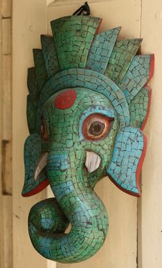 elephant mask | Indian Elephant Masks Beautiful elephant mask in