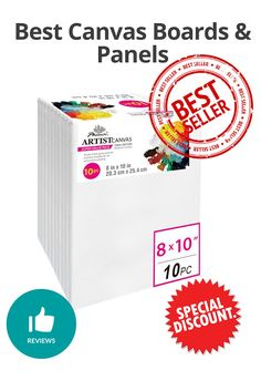 Best Canvas Boards & Panels - Discount and review Best Canvas, Canvas Board, Boards, Planks